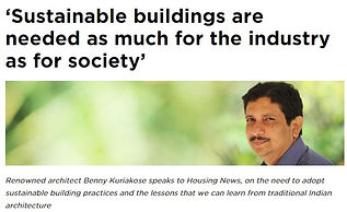 Sustainable Buildings Are Needed For The Society