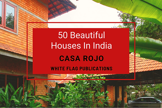 This house named Casa Rojo has been designed by me for Ranjeet Jacob and Maria Jacob. One of the buildings which have been featured quite a bit. Also, a project is successful only when the taste of the clients and the designer gel together.