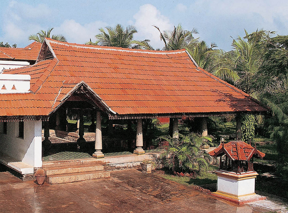 Vishram by the sea - The roof eaves on both sides of the gables help in eliminating hot air.