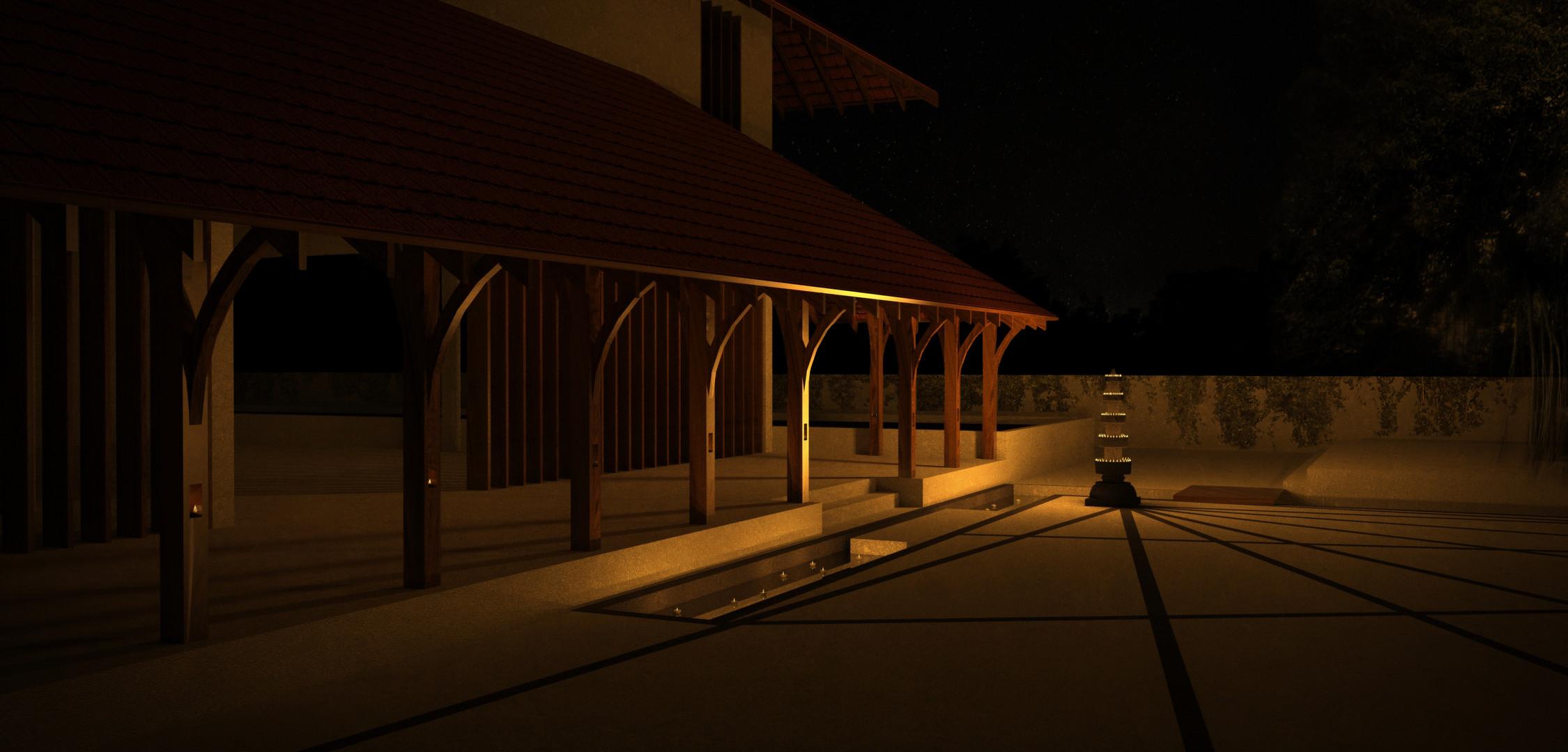 Exterior Landscape Lighting