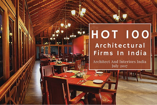 The 100th issue of Architect and Interiors India features the Hot 100 Architectural Firms of 2017. Benny Kuriakose is also included in this list.