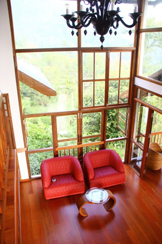 Double height Living room Interior Design