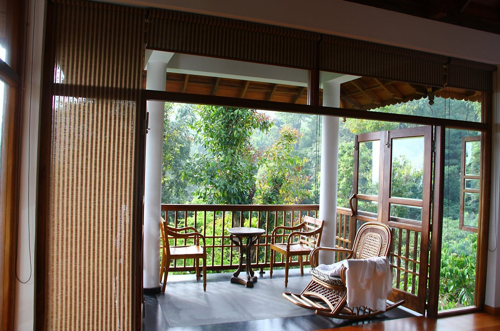 Wayanad House - Balcony with a Sit-out