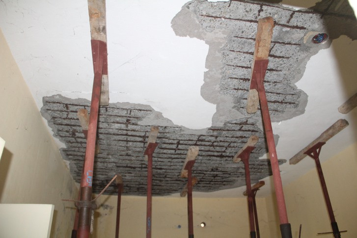 Spalling of Concrete buildings