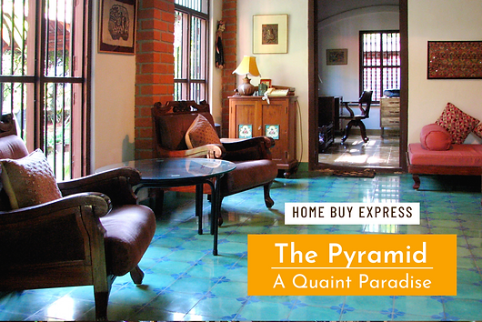 Home Buy Express talks about Vernacular architecture principles guided Benny Kuriakose to create the attractively unusual 'Pyramid' near the East Coast Road, Chennai. More photos of this house can be seen https://www.bennykuriakose.com/pyramid