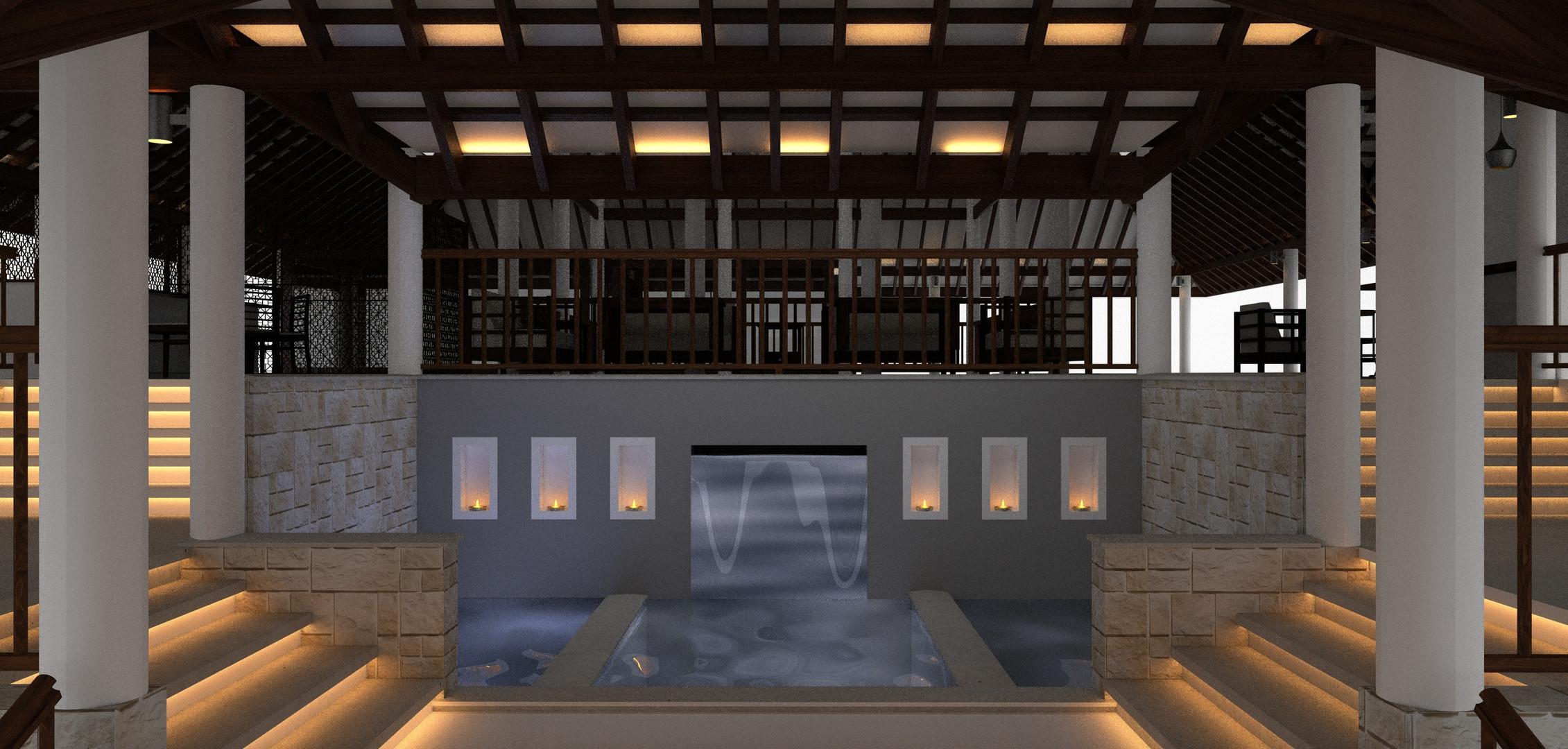Lobby Lily Pond View