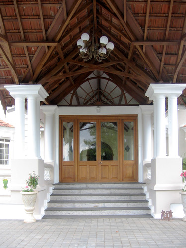 Gable Roof Entrance Porch