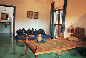 The windows come very low in this weekend house - Vishram by the sea to feel the wind movement at the floor level.