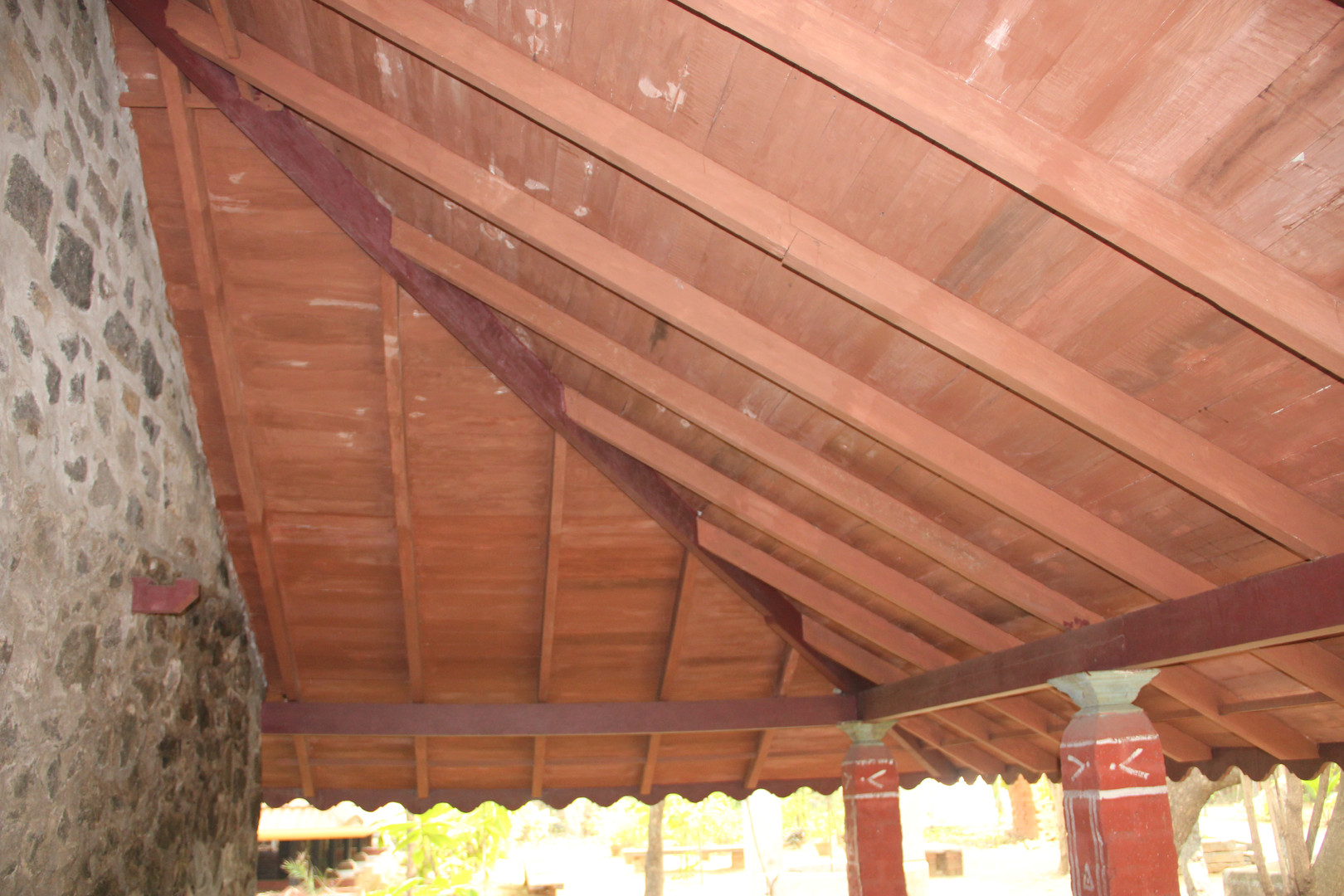 Veranda Ceiling Detail