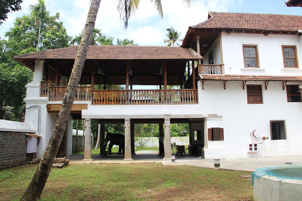 Paliam palace which has been conserved by Benny Kuriakose as part of the Muziris Heritage Project.