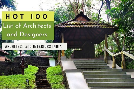 "Hot 100 - The sixth anniversary special issue of Architect and Interiors India begins with, ""the celebrated architects who have mentored talent over the years and have had a very strong influence on shaping the creative minds of today. And then we have the hottest 100 architects and designers of the country, who were asked to tell us why theirs is the best profession to be in, list their favourite architects and materials. Benny Kuriakose is featured as one among them."