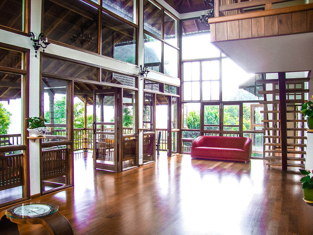 Weekend House Timber Interior