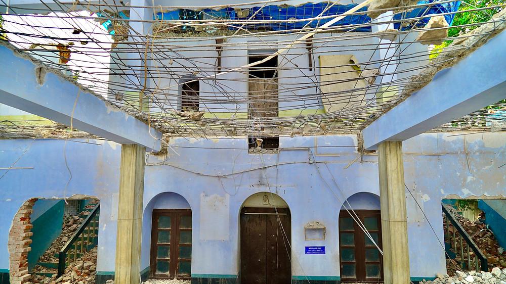Later Additions of Cheraman Masjid Under Progress