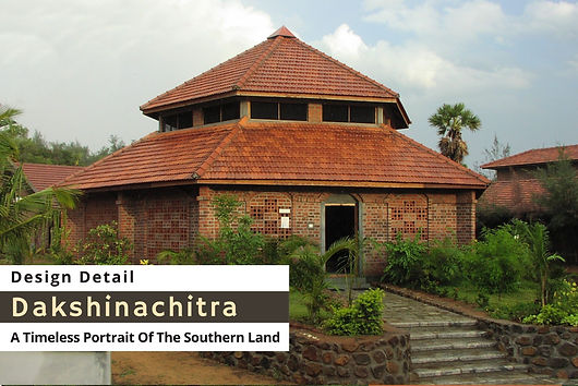 An article on Dakshinachitra, Chennai - titled A timeless portrait of Southern Land. I have designed most of the public buildings in Dakshinachitra and the Kerala Section. Also I was able to get involved in the transplantation of buildings in the Karnataka and Andhra Sections. We have just started the work on setting up a North Kerala Muslim house in Dakshinachitra now.    More photos of Dakshinachitra can be seen at https://www.bennykuriakose.com/dakshinachitra