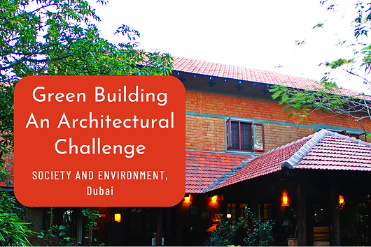 """For Society & Environment Dubai, Benny gives a 'green' overview of architecture and discusses his views on LEED rated buildings and the urban landscape. """"Benny Kuriakose is an architect with a difference. Trained under illustrious architect Laurie Baker, he has earned acclaim for his rehabilitation architecture. He created a model of cost-effective dwelling units for the victims of earthquake in Latur (India) in 1994 as well as Tsunami victims in 2004. Ever since, Benny has been invited by School of Planning and Architecture, Indian Institute of Technology and other premier institutes to share his philosophy of architecture for the common people. He provides consultancy to the United Nations Development Programme as well."""""""