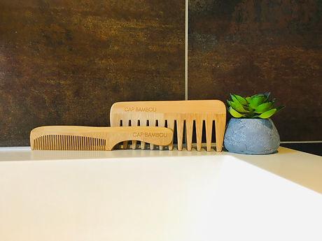 peignes bambou