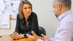 Comandante Nádia vai a EPTC acompanhar demandas protocoladas via 156