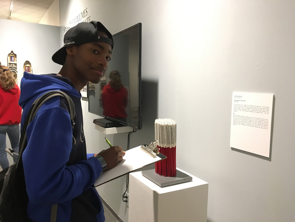Helena students research work In Equality for our upcoming workshop and exhibit, Speaking Volumes: Scores for Transforming Hate, Holter Museum of Art