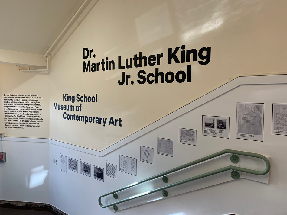 Dr MLK Jr School Timeline by KSMoCA