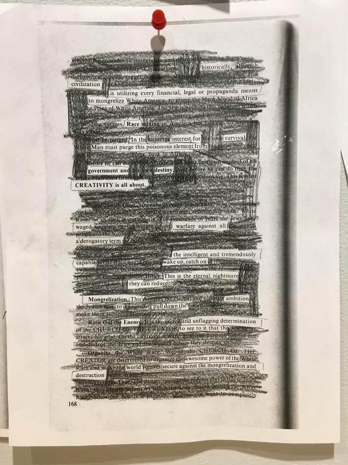 Participant's Cross-out poem