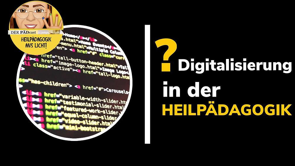 Digitalisierung in der Heilpädagogik, Alicia Sailer