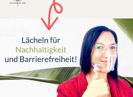 Lächeln für Barrierefreiheit und Nachhaltigkeit