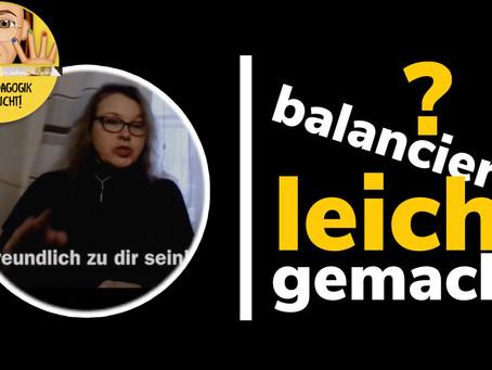 Veränderung in Balance