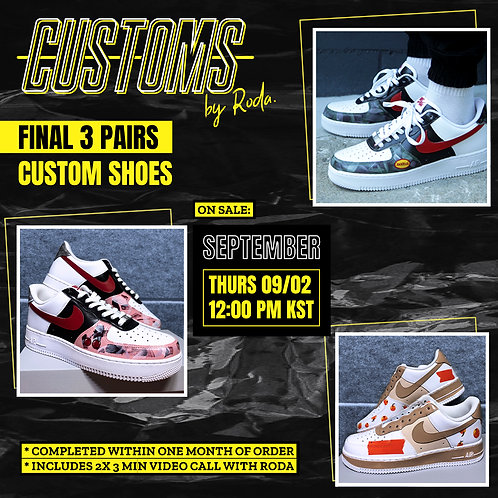 Customs shoes by Roda