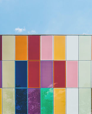 Colorful Tile Wall