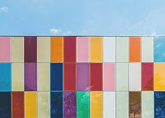 Красочные плитки Стена