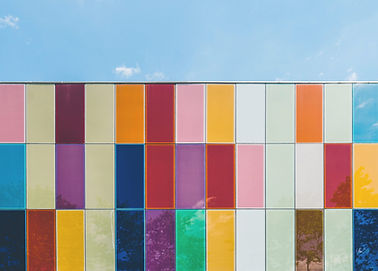Colorful Tile Wall