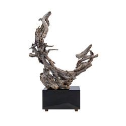 Crescent Driftwood Sculpture copy