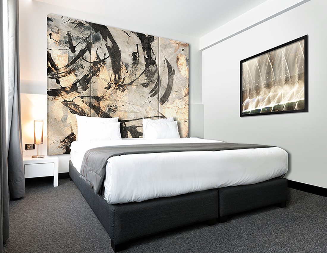 "Art Headboard art ""Dancing Mood"""