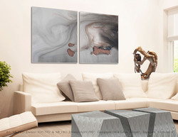 """Geo Cubes with art """"Envision Series"""""""