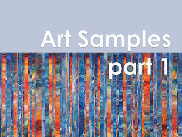 Art Samples Part 1 pdf
