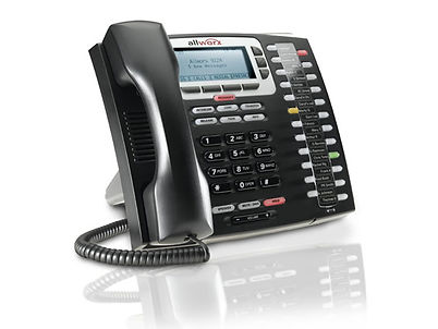 Photo of an Allworx telephone