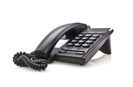 Photo of a digital Allworx telephone