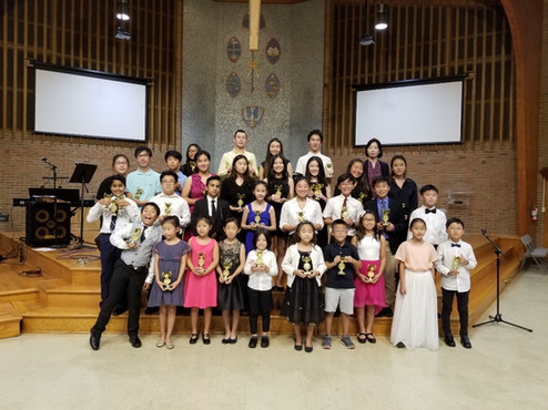 2019 Gospel Music Competition Winners' Concert