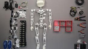 El primer robot impreso en 3D