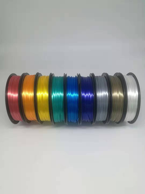 Filamento 3D PLA SILKY Premium Treegic 1.75mm 1kg (impresora 3d)