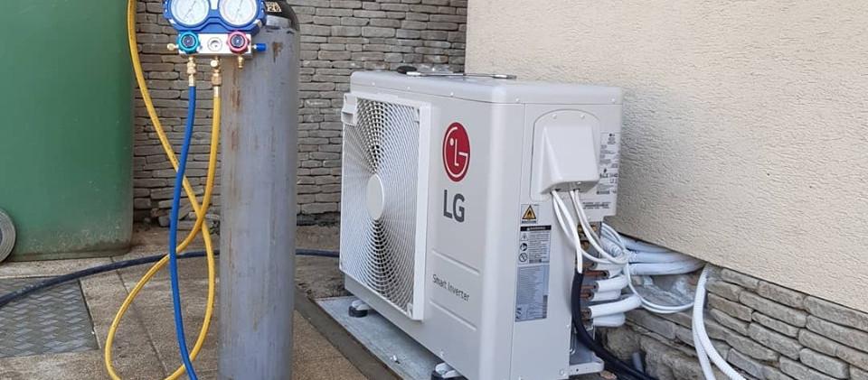 LG Artcool Multi klíma kültéri egysége