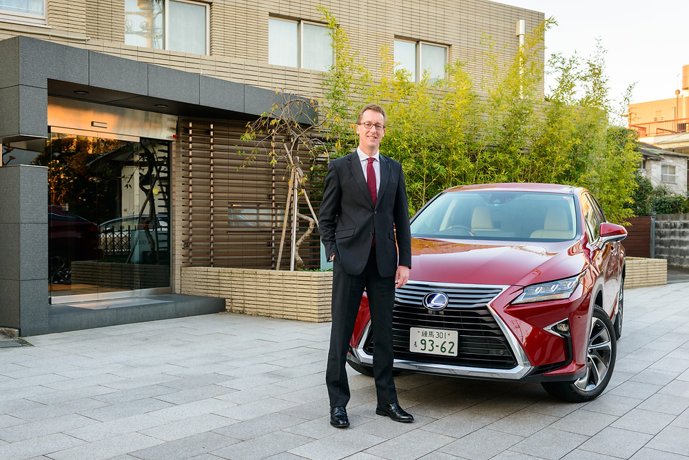 """JANUARY 2016 SPONSORED CONTENT  The Lexus Experience Test-driving the new RX  Even before he stepped into the new Lexus RX, Neil Cherry was impressed.  An executive in the financial services sector, he took in its bold lines as the sun peered over the Tokyo skyline. With soft rays bouncing off the hybrid SUV's crimson body, Cherry could barely contain his enthusiasm.  """"It's a gorgeous car,"""" he says. """"It has a wonderful appearance from the front: sleek and incredibly elegant, and it looks very well finished.""""  It was not just the glistening curves of the RX that caught Cherry's eye, but also the new alloy wheels and eye-catching signature spindle grill that provides an elegant and futuristic air.   https://journal.accj.or.jp/the-lexus-experience/    The ACCJ - 在日米国商工会議所  http://www.accj.or.jp              The sport steering wheel, complete with leather trim, provides for the ultimate drive.   Lexus Brand Management Division General Manager Atsushi Takada"""