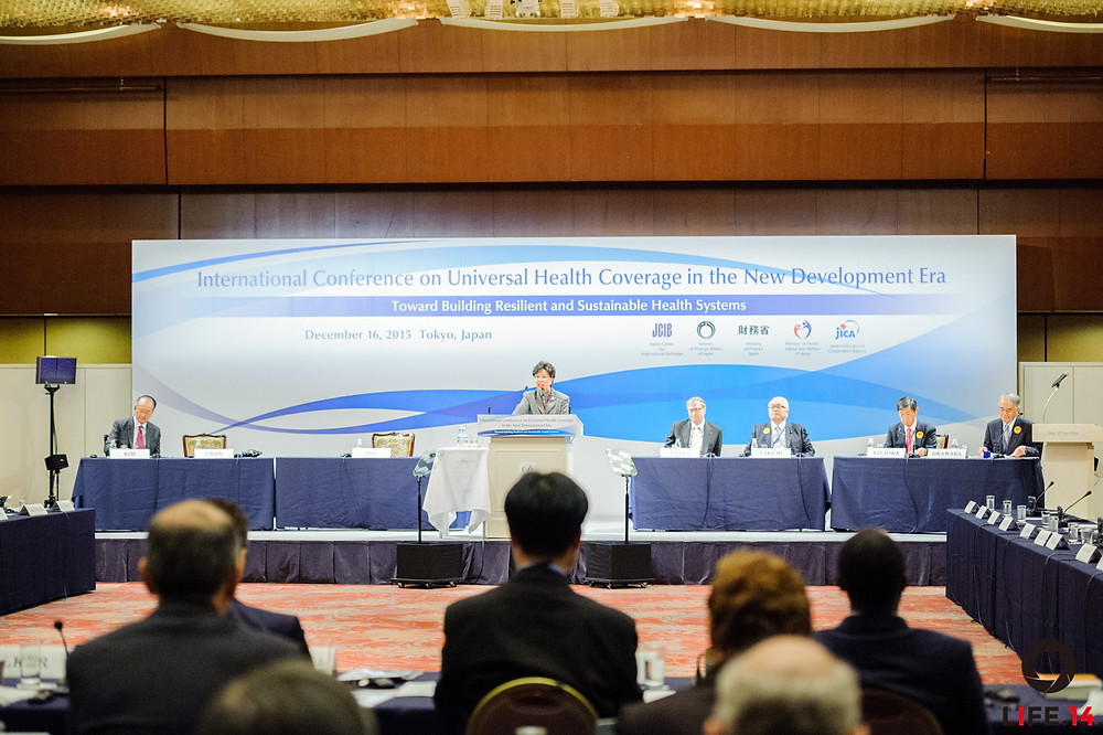 Universal Health Coverage in the New Development Era: Toward Building Resilient and Sustainable Health Systems Tokyo | December 16, 2015 Global Leadership Address by Margaret Chan, Director-General, WHO