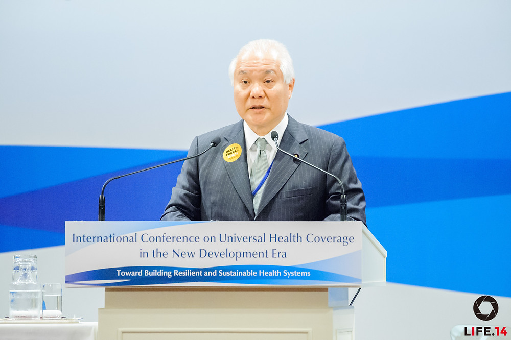 Universal Health Coverage in the New Development Era: Toward Building Resilient and Sustainable Health Systems Tokyo | December 16, 2015 Overview of the conference by Keizo Takemi, Member of the House of Councillors