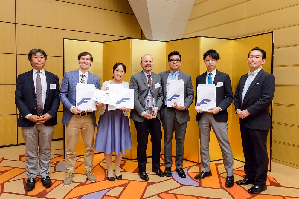 Team Five, winners of JMEC 24 JMEC JULY 2018  Japan Market Expansion Competition Trials and tribulations of creating a business plan  By  Megan Casson  https://bccjacumen.com/japan-market-expansion-competition/  British Chamber of Commerce in Japan 在日英国商業会議所 https://www.bccjapan.com/