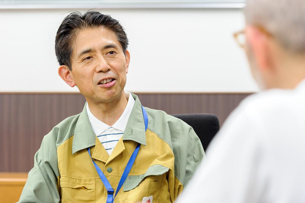 写真)中部電力株式会社 発電カンパニー 西名古屋火力発電所 長尾和彦所長