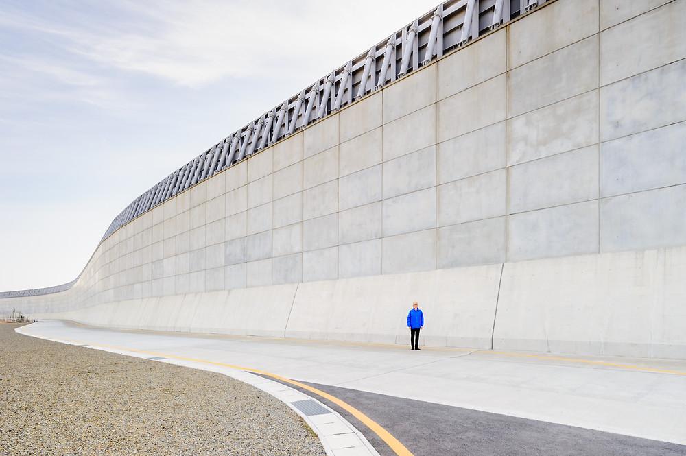 「安全」を考える  Vol.01 「リスクに向き合う」浜岡原子力発電所 防波壁