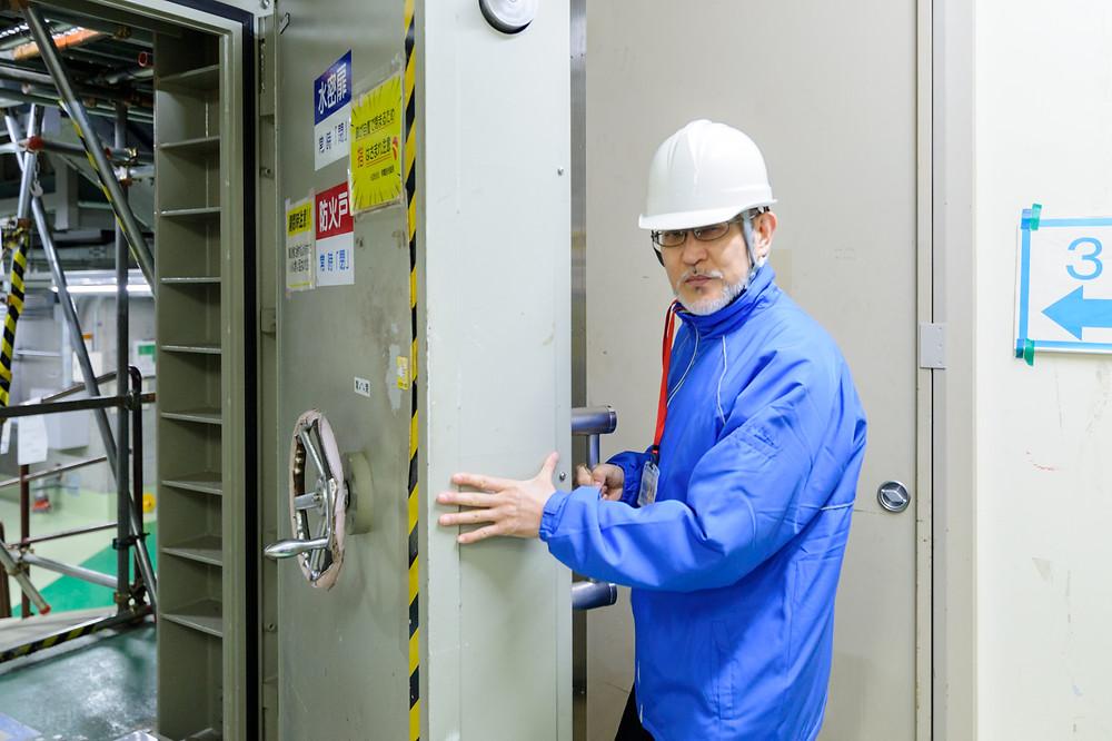 「安全」を考える  Vol.01 「リスクに向き合う」浜岡原子力発電所 - 水密扉