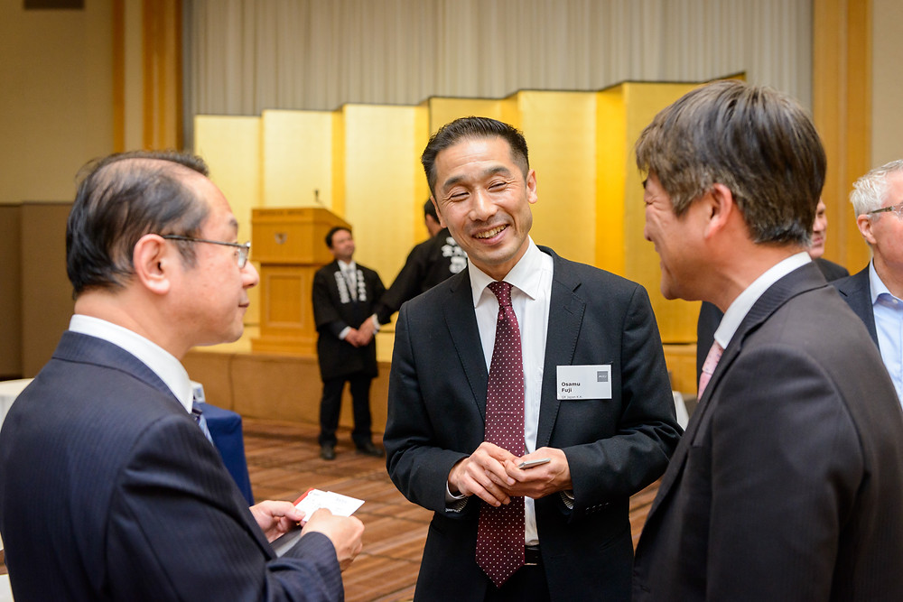 FEBRUARY 2018 ACCJ EVENT  Ringing in a New Year The 2018 ACCJ Shinnenkai  By Custom Media  Last year was a record-breaking one for the American Chamber of Commerce in Japan (ACCJ), and 2018—our 70th anniversary—promises even greater success.  To usher in the new year, members of the ACCJ gathered at the Imperial Hotel on January 18 for the annual shinnenkai. ACCJ–Tokyo Governor Yumi Goto of Coca-Cola (Japan) Company, Ltd. served as master of ceremony, and ACCJ President Sachin N. Shah outlined his vision for the next 12 months. US Ambassador to Japan and Honorary ACCJ President William F. Hagerty IV delivered remarks on the US–Japan partnership, and special guest Yoshimitsu Kobayashi, chairman of Keizai Doyukai (Japan Association of Corporate Executives), shared an encouraging message.  Following the kagami-biraki—the ceremonial cracking open of a sake barrel—members and guests enjoyed drinks, food, and a wonderful evening of conversation and networking. It was the perfect start of what promises to be another remarkable year for the chamber.   https://journal.accj.or.jp/ringing-in-a-new-year/    The 2018 ACCJ Shinnenkai Date: Thursday, January 18, 2018 Time: 18:00 - 20:00  Venue: The Imperial Hotel, Main Bldg, Mezzanine, Hikari Room  One of the Chamber's premier networking events, the ACCJ Shinnenkai is your chance to reconnect after the winter holidays while making new connections in the new year. This popular event offers opportunities to engage not only with friends and colleagues, but also with high-level government officials and decision-makers from both the Japanese and U.S. governments and business communities. Attendees to this year's Shinnenkai may also look forward to remarks by 2018 ACCJ President Sachin N. Shah, who will share his vision for the Chamber in the new year.  http://www.accj.or.jp/accj-events/the-2018-accj-shinnenkai.html?lang=en  The ACCJ - 在日米国商工会議所 http://www.accj.or.jp    Custom Media − Award Winning Bilingual Creative Agency in Tokyo htt