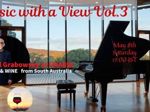 【ワイン畑広がるUKARIAよりポール・グラボウ・スキー氏が登場】Music With a View Vol.3 配信を担当しました